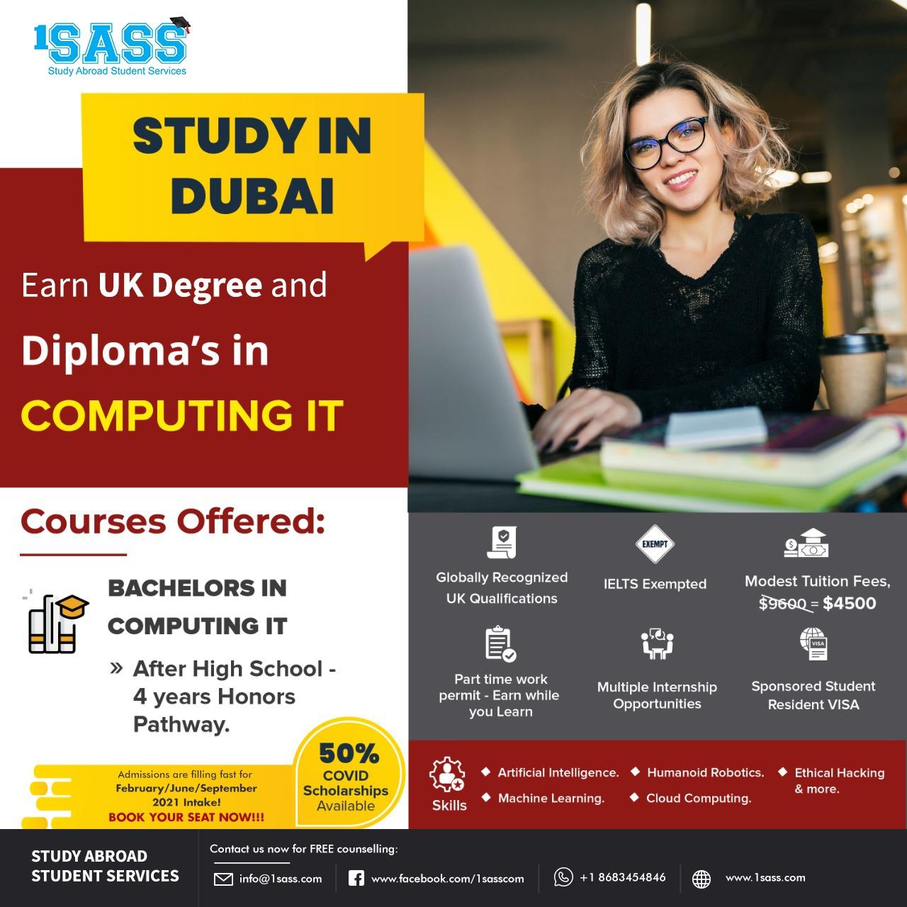Study in Dubai - Computing IT
