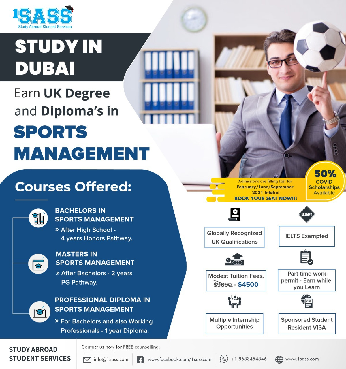 Study in Dubai - Sports Management